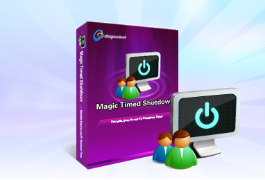 DoGoodSoft Magic Timed Shutdown is a Good Helper for Parents and Managers