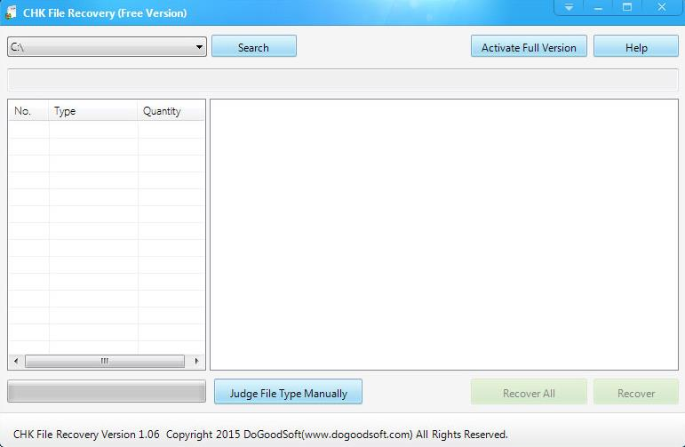 DoGoodSoft Released the Latest Version of CHK File Recovery 1.06