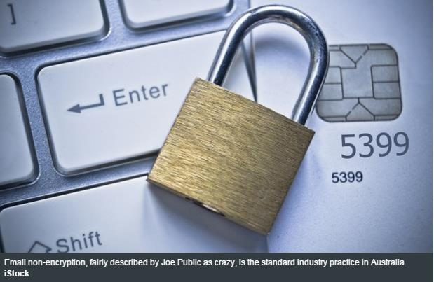 Weak email encryption laws put Aussie consumers at risk of fraud
