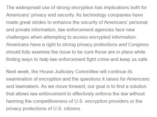 Apple and FBI to testify before Congress next week over encryption