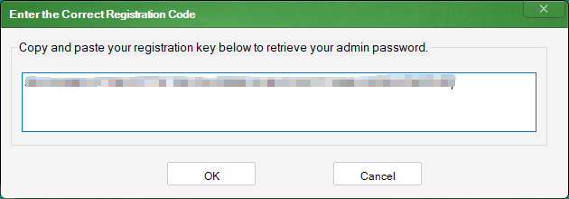 How to open Best Folder Encryptor if you forgot the admin password?