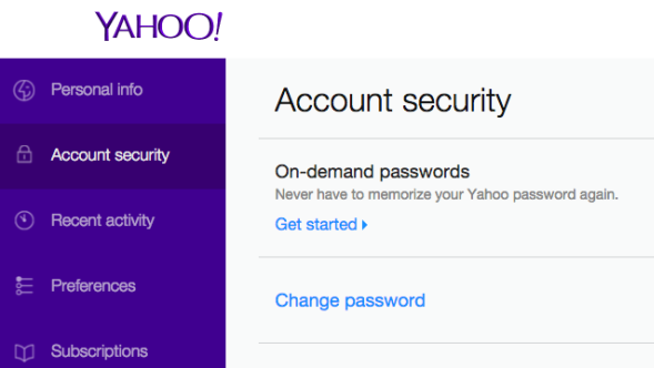 Tired of forgetting your password? Yahoo says you don't need one any more