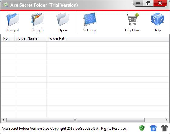 Folder Encryption Software - Ace Secret Folder Has Been Updated to Version 6.66