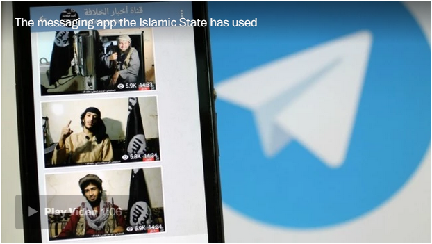 The secret American origins of Telegram, the encrypted messaging app favored by the Islamic State