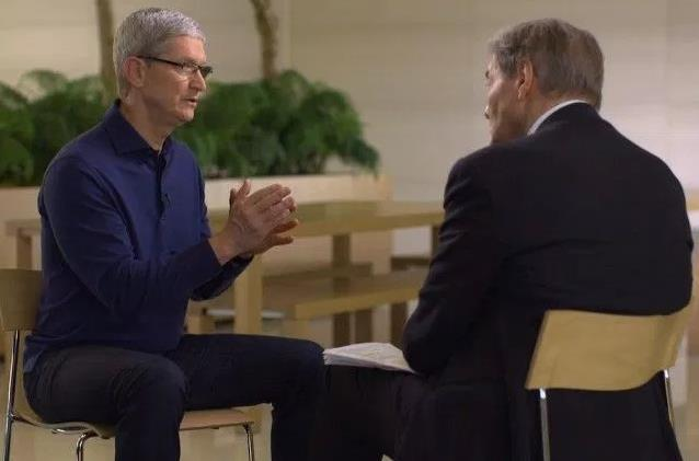 "Apple CEO Tim Cook Mounts Defense of Encryption on ""60 Minutes"""