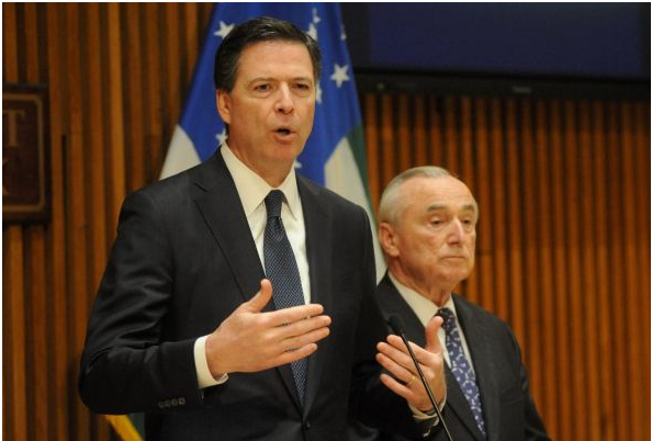FBI chief James Comey says Calif. killers used encrypted email, but not social media