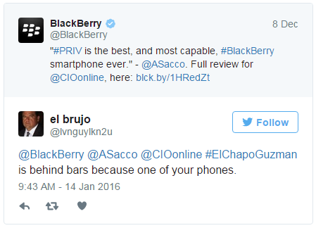"What ""El Chapo"", Sean Penn and BlackBerry teach us about encryption"